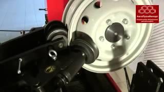 Станок для правки литых дисков «Премьер-Альфа-ТР» - демонстрация работы(«АвтоПромИмпорт» - отечественная компания, занимающаяся реализацией специализированного оборудования..., 2013-09-12T12:00:54.000Z)