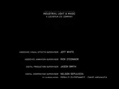 TransFormers 2: Renge of the Fallen (2009) end credits