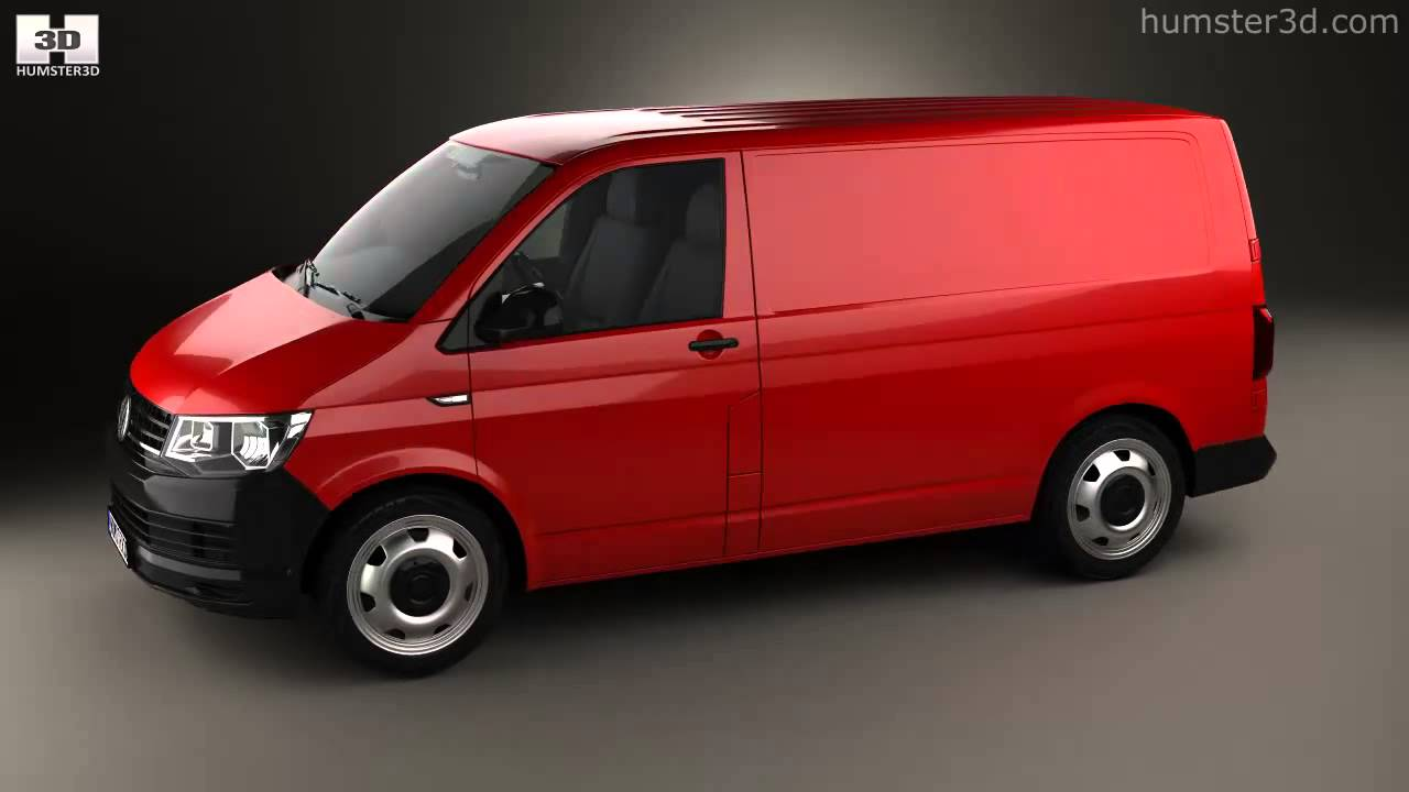 Volkswagen Transporter T6 Panel Van 2016 By 3d Model