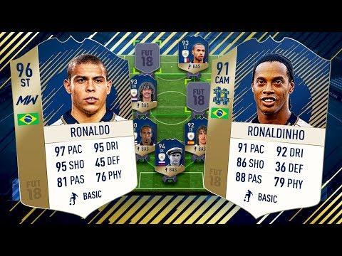 OMG FULL ICON SQUAD VS PRO PLAYER! - FIFA 18 ULTIMATE TEAM