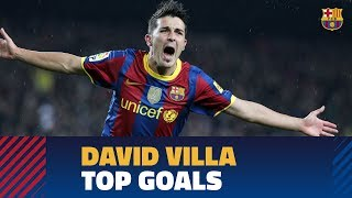 David Villa's TOP 5 goals with Barça