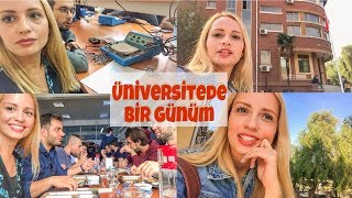 Üniversitede Bir Günüm | EGE ÜNİVERSİTESİ, Mühendislik, Dersler #Vlog4