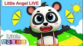 Baby Panda Got Lost!, Sharks vs. Dinosaurs + More Live Nursery Rhymes by Little Angel