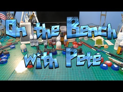 On the Bench with Pete 158 - Clockwork Robot, Terrain & other models