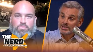 Andrew Whitworth on Sean McVay's success with Rams, Jared Goff, 49ers rivalry | NFL | THE HERD