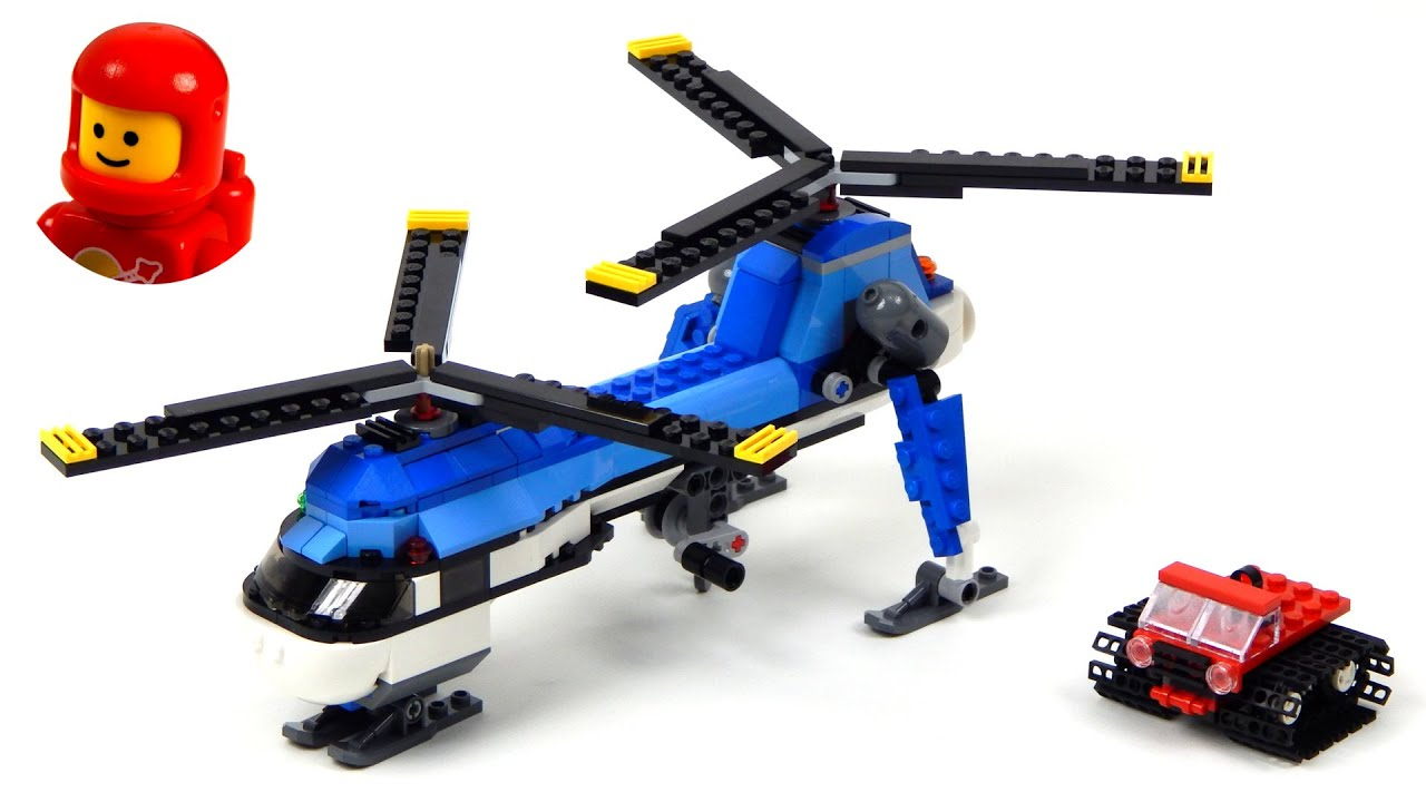 Lego Creator 31049 Twin Spin Helicopter Lego Speed Build