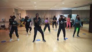 Olamide - Infinity ft Omah Lay (Afro Dance choreography Beginners Class Dubai 2020)