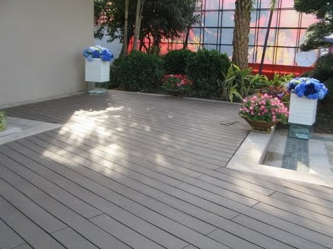 Composite Flooring For Roof Terrace