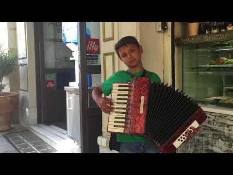 Gypsy accordion jam - Athens, Greece