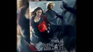 Avengers Age of Ultron Scarlet Witch Red jacket