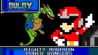 Mighty Morphin Power Rangers 8 Bit