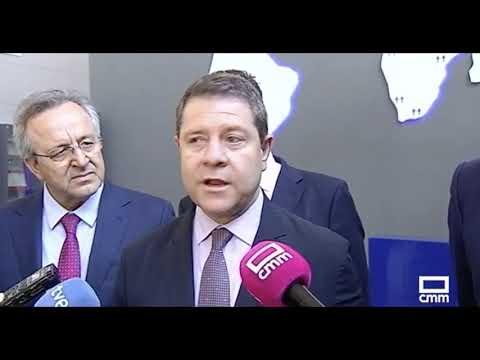 El Presidente De CLM, Emiliano García-Page Visita Los Yébenes