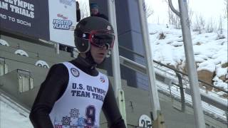 Billy Demong - Nordic Combined Olympic Team Trials - Jump - U.S. Ski Team