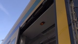 Türschliesssignal Siemens Combino - tram straßenbahn