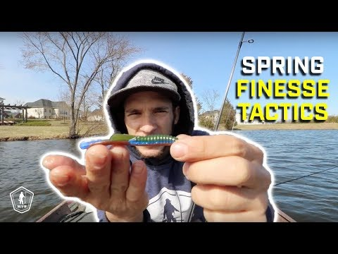 Finesse Fishing Tips For Spring Cold Fronts