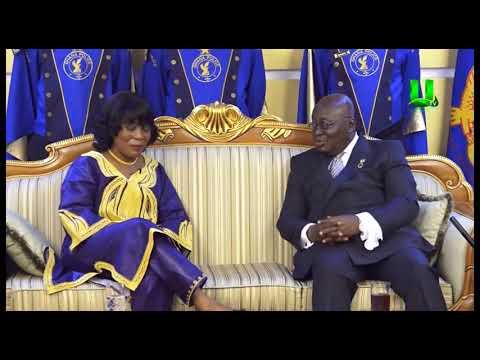 Prez. Akufo-Addo receives credentials from 4 ambassadors
