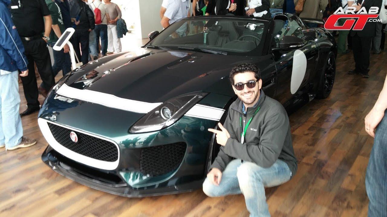 Jaguar F-Type Project 7 In Goodwood جاكوار اف تايب بروجيكت