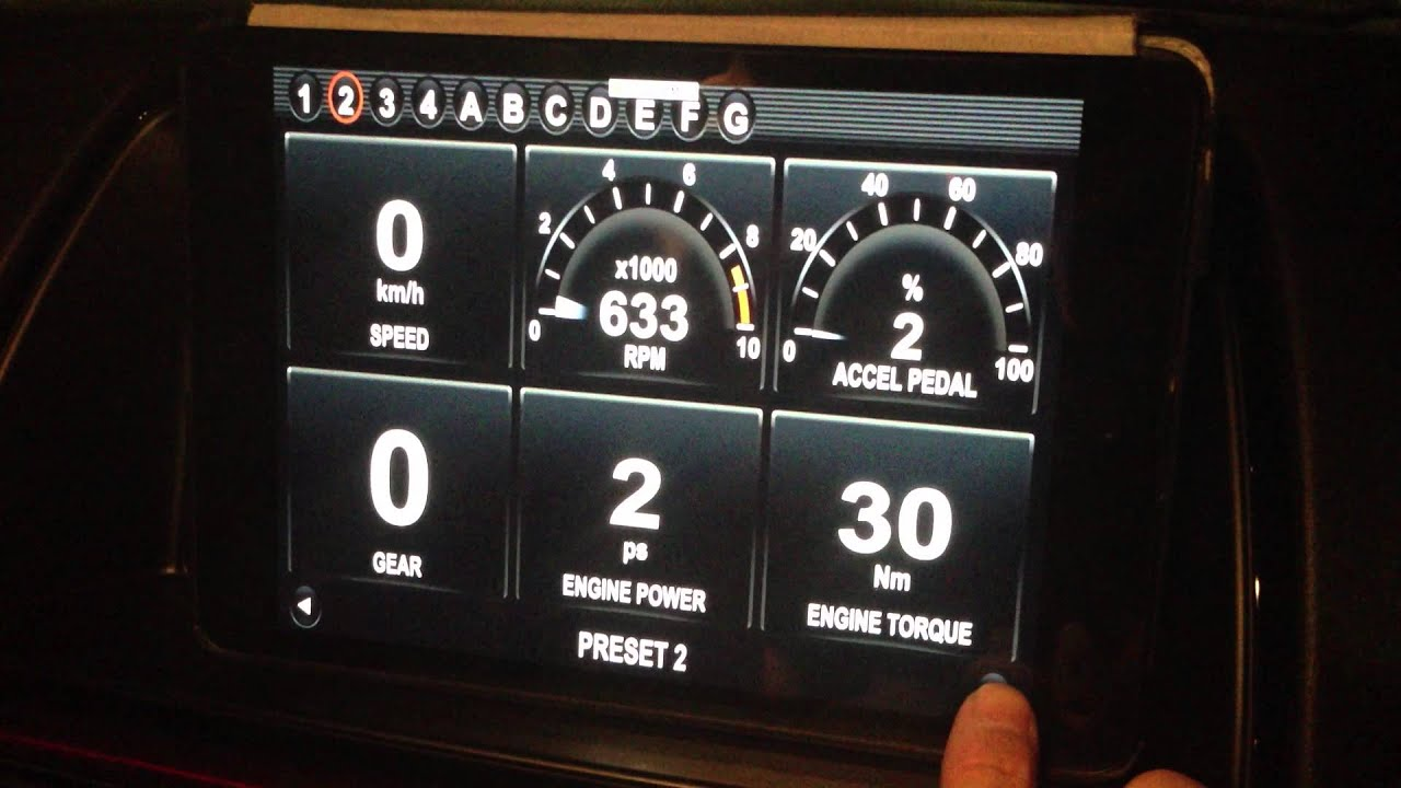 Dashcommand Via Obd Ii On Ipad Mini 2014 Skyactiv G Mazda6