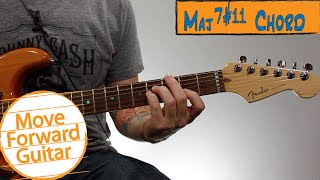 Beginner Jazz Guitar Chords - Major 7#11