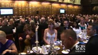 William and Kate attend alma matter dinner