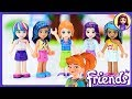 New Colour for Mia's Hair - Lego Friends Girls hair repaint DIY Craft