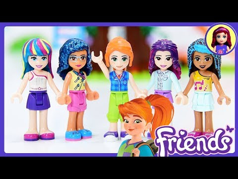 New Colour for Mia's Hair - Lego Friends Girls hair repaint DIY Craft