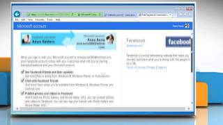 How to add Facebook® friends or contacts in Outlook.com contacts list