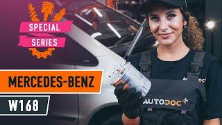 Fitting Brake caliper support bracket MERCEDES-BENZ A-CLASS (W168): free video