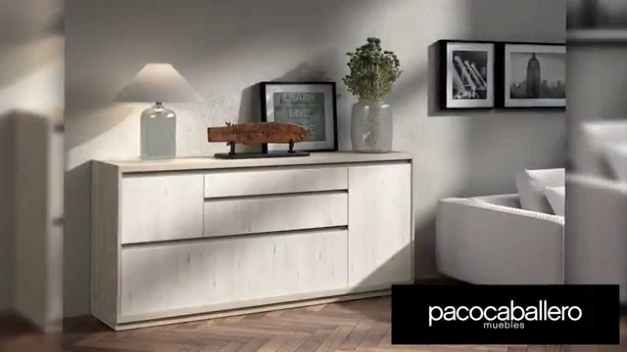 Salones y comedores kay youtube for Muebles paco caballero