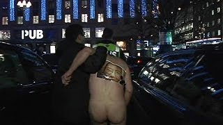 Sweden: naked protesters attempt to enter Nobel Ceremony - no comment