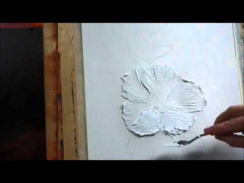 How To Paint With Palette Knife Creating Texture With Acrylic Part Svetlana Kanyo
