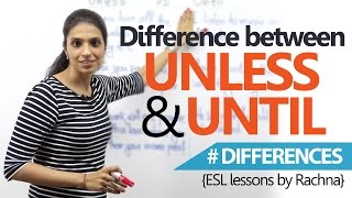 Learn English - Difference between