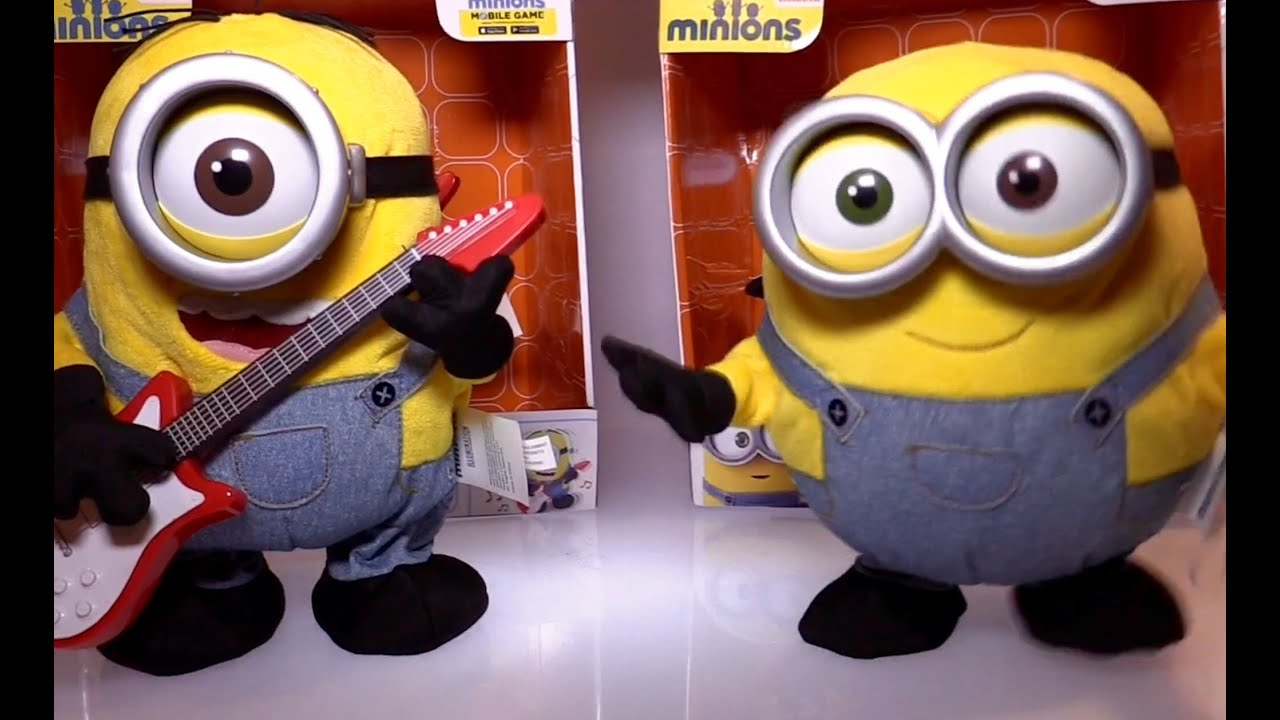 Minions Movie Interactive Toys At Toy Fair 2015 Youtube