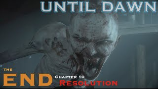 Until Dawn - Let's Play Walkthrough Part 13 - The End / Finale - Chapter 10 Resolution