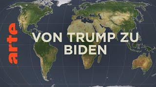 Von Trump zu Biden - Führungsmacht USA?   Mit offenen Karten   ARTE