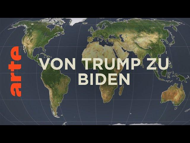 Von Trump zu Biden - Führungsmacht USA? | Mit offenen Karten | ARTE