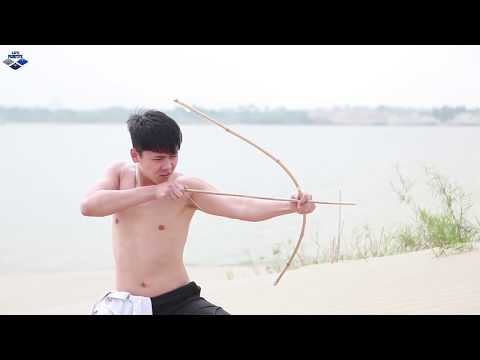 Primitive Life : Produce bows and arrows archery training and catching fish.
