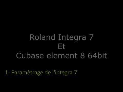 Roland integra 7 et Cubase 8 ... ça fonctionne !