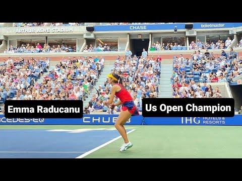 Download Emma Raducanu vs Leylah Fernandez | Womens Final 2021 Us Open Arthur Ashe Staduim Match highlights!!