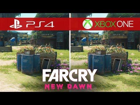 Far Cry New Dawn Comparison - Xbox One vs. Xbox One S vs. Xbox One X vs. PS4 vs. PS4 Pro