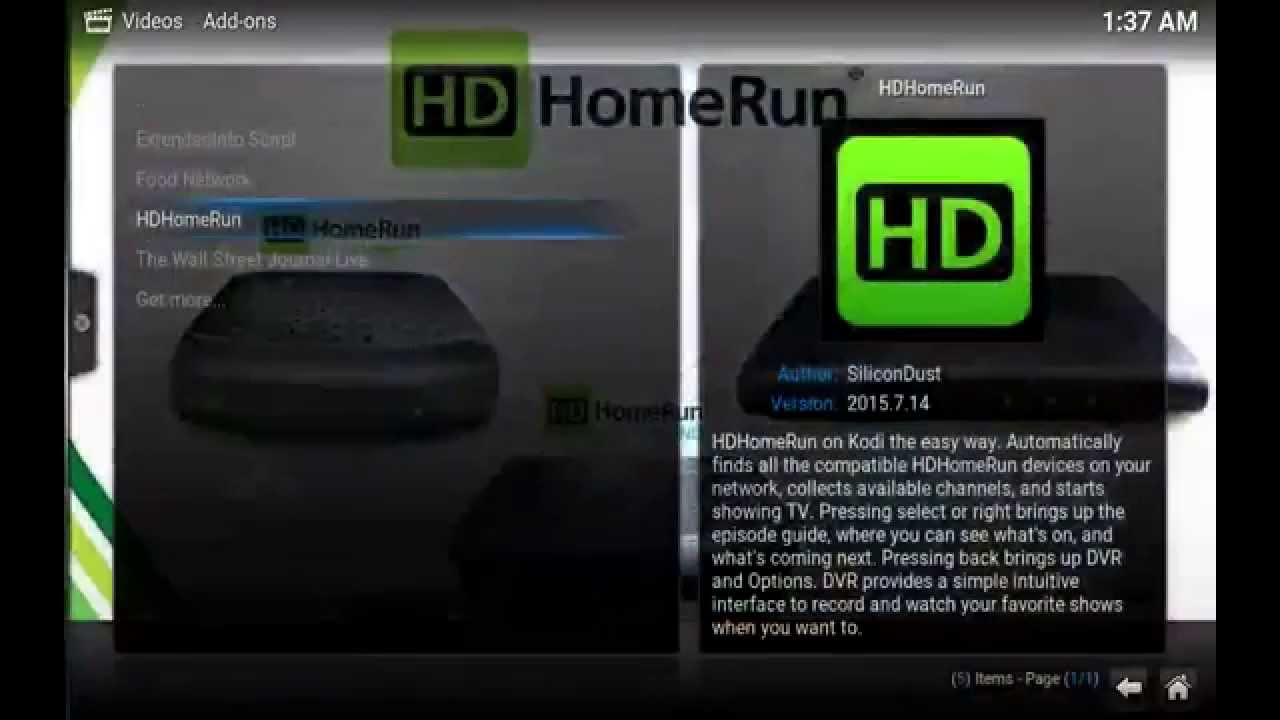 how to add hdhomerun to plex