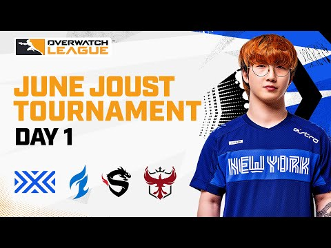 Overwatch League 2021 Season   June Joust Tournament   Day 1
