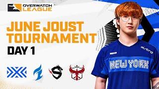 Overwatch League 2021 Seąson   June Joust Tournament   Day 1