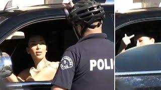 Kim Kardashian Says F**k The Police! [2009]