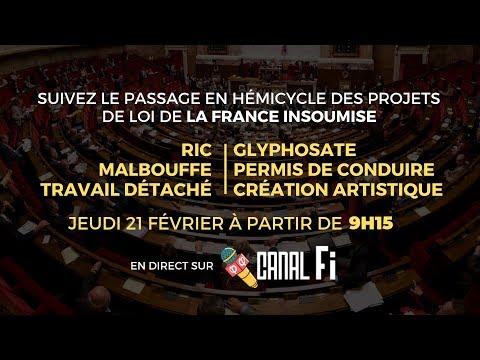 EMISSION SPÉCIALE - Les propositions de lois de la France insoumise - #LoisFi2019