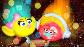 Відео для дітей. MCDonalds Макдональдс, іграшки з мультфільма Тролі