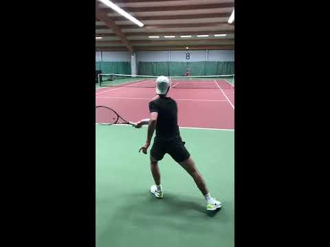 Höjdpunkter från Elitspelarnas träning 5:e april (Tennis Stockholm) - COURTVIEW (HD)