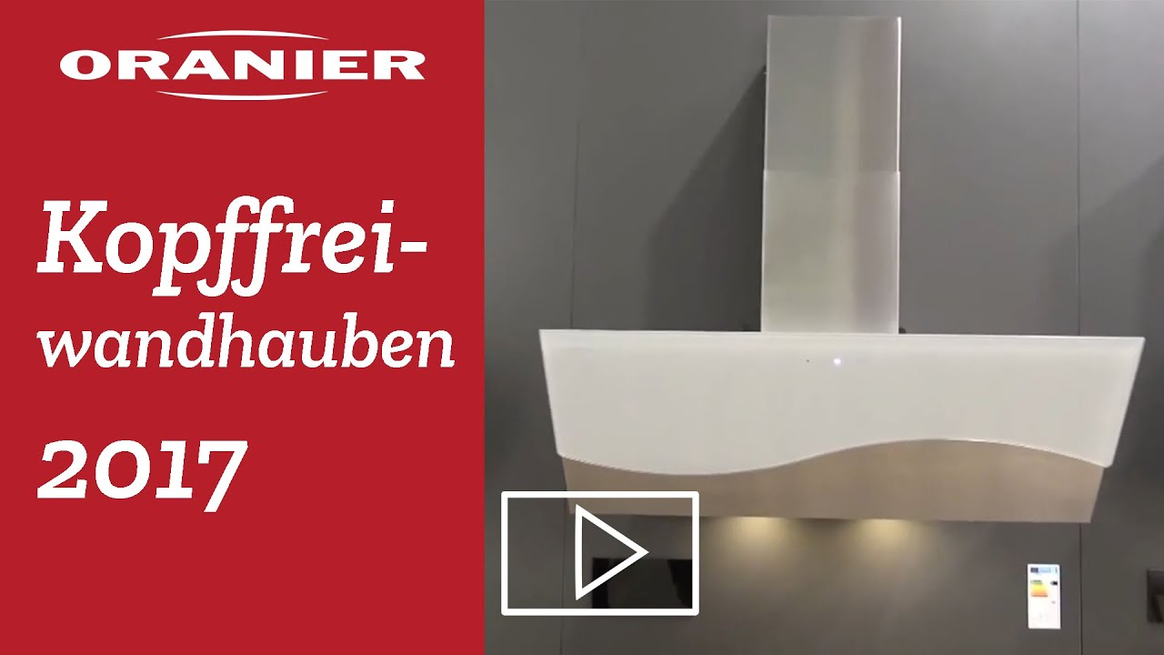 ORANIER Kopffreihauben - Modellübersicht 2017 - YouTube