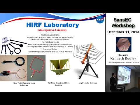 NASA | SansEC Sensor Workshop - Part One