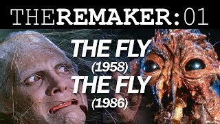 The Remaker: The Fly (1958) vs. The Fly (1986)